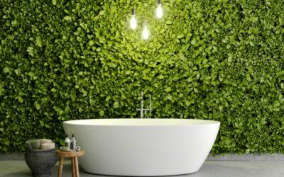 Revoluciona tu baño con jardines verticales interiores
